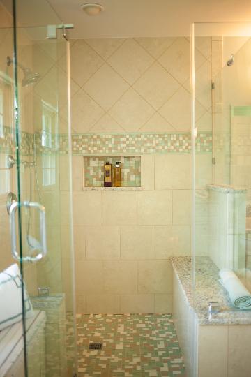 Sea glass mosaic tile bathroom my web value for Sea glass mosaic tile bathroom